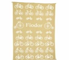 """BABY Coperte """"Bicycles"""""""