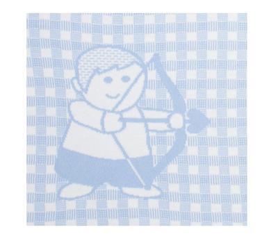 Skytten. Personlig Babytæppe  med stjernetegn.