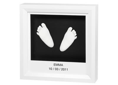 Window Sculpture Frame (White & Black)