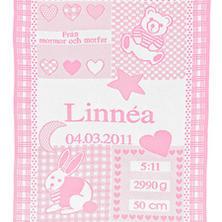 """Vauvan peitto nimellä """"Pinkki"""""""