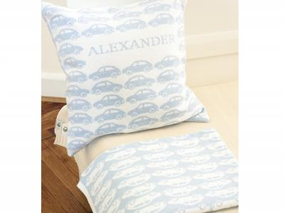 """Pillow  """"CARS"""" with name"""